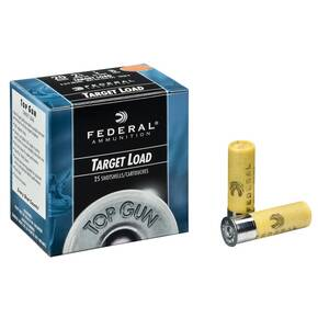 "Federal Top Gun 20 ga 2-3/4"" 1 oz Steel #7 25/Box"