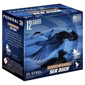 "Federal Speed-Shok Sea Duck Shotshells 12 ga 3"" 1-1/4oz 1450 fps #4 25/ct"
