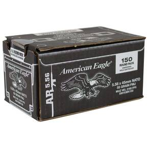 Federal XM193 Rifle Ammunition 5.56mm NATO 55 gr FMJ - 150ct