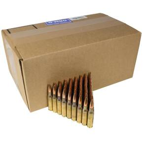 Federal NATO Rifle Ammunition 7.62x51mm 149 gr FMJ 2750 fps 500/ct