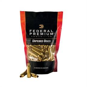 Federal Premium Unprimed Brass Rifle Cartridge Cases 50/ct .308 Win