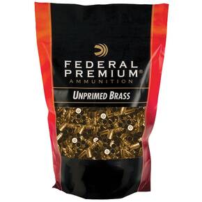 Federal Premium Unprimed Brass Handgun Cartridge Cases .327 Fed Mag 100/ct