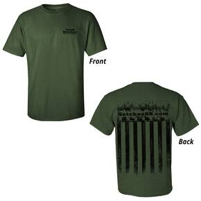 Natchez T-Shirt OD Green