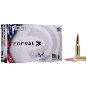Federal Non-Typical Hunting Rifle Ammunition Soft Point 20/ct