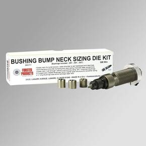 "Forster Bushing Bump Kit 6.5 Creedmoor - Neck Sizing Die & 3 Bushings .292"" .290"" .288"""