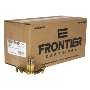 Hornady Frontier NATO FM193 Rifle Ammunition 5.56mm 55 gr FMJ 1000/ct