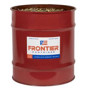 Hornady Frontier NATO XM193 Rifle Ammunition 5.56mm 55 gr FMJ 3240 fps 13,889/ct Barrel