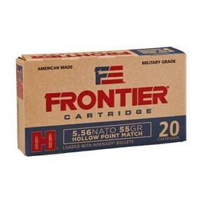 Hornady Frontier NATO Rifle Ammunition 5.56mm 55 gr HP-MATCH  20/ct
