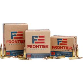 Hornady Frontier NATO Rifle Ammunition 5.56mm 55 gr HP-MATCH  1000/ct