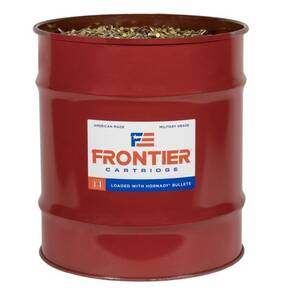 Hornady Frontier NATO Rifle Ammunition  5.56mm 62gr FMJ 3060 fps 13889/ct Barrel