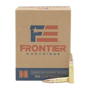 Hornady Frontier Rifle Ammunition .300 Blackout 125 gr FMJ 2175 fps 150/ct