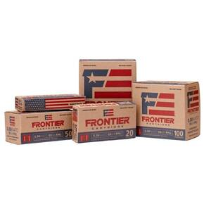 Hornday Frontier Rifle Ammunition .223 Rem 55 gr SP 150/ct