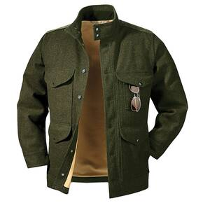 Filson Wool Greenwood Jacket - Forrest Green