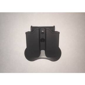 Tagua Double Mag Pouch Black Ambidextrous