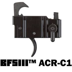 Franklin Armory BFSIII ACR-C1 Binary Trigger Firing System For Bushmaster ACR - Curved Trigger