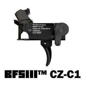 Franklin Armory BFSIII CZ-C1 Binary Firing System for CZ Scorpion - Curved Trigger