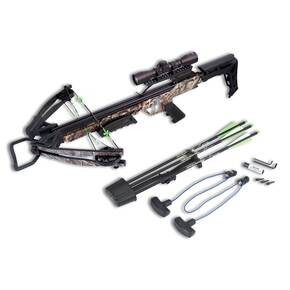 Carbon Express X-Force Blade Crossbow Package with 4x32mm Scope - Camo