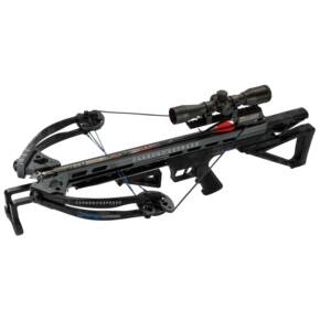 Carbon Express Intercept Supercoil Crossbow  Package with 4x32 Scope - Carbon Black
