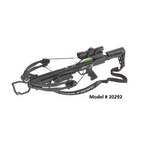 Carbon Express X-Force Blade Crossbow Package w 4x32 Deluxe Scope - Black