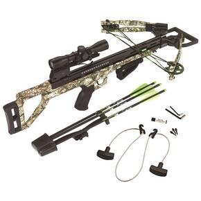 Carbon Express Covert Tyrant Crossbow Package with 4x32 Scope - Camo