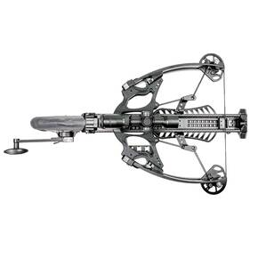 Feradyne AXE Crossbow with 3 Bolts & Illum Reticle Multi-Range Scope - Black