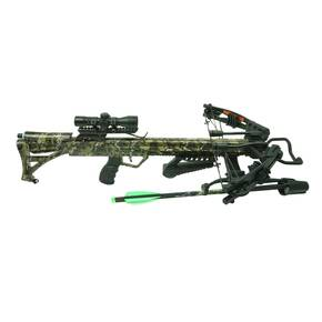 Rocky Mountain RM-415 Crossbow Package with 4x32 Ilum Scope 415 fps - Camo