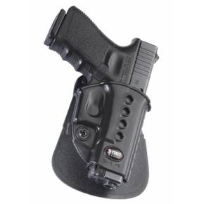 Fobus Evolution Series Paddle Holster For Ruger SR22 in Black Right Hand