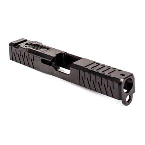 ZEV Technologies Z19 Enhanced Stripped Slide w/ DPP Cover Plate for 1st-3rd Gen Glocks - Black DLC