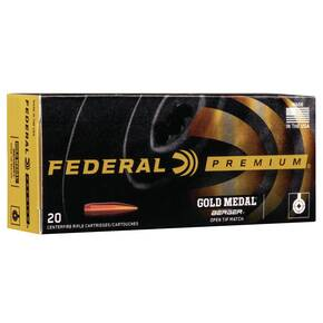 Federal Gold Medal Berger Hybrid Rifle Ammunition .300 Win Mag 215 gr BTHP 20/ct