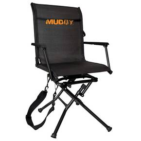 Muddy Outdoors Swivel-Ease Ground Seat With Adjustable Legs
