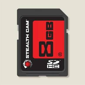 StealthCam SDHC Memory Card - 8GB