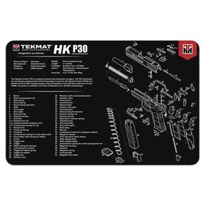 TekMat 11x17 Gun Cleaning Mat - Heckler & Koch P30