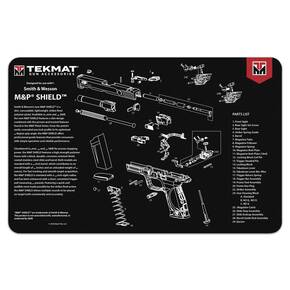 TekMat 11x17 Gun Cleaning Mat- Smith & Wesson Shield