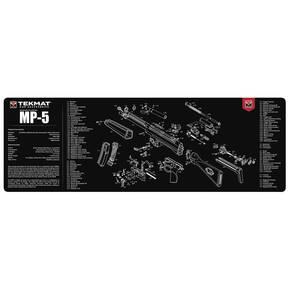 TekMat 12x36 Gun Cleaning Mat - Heckler & Koch MP5