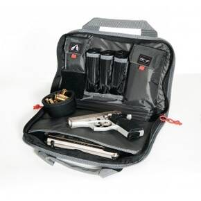"G-Outdoors Double ""Compact"" Pistol Case - Black"