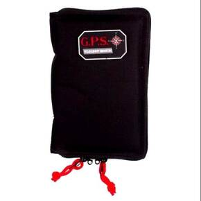 G-Outdoors Large Pistol Sleeve with Locking Zipper - Black