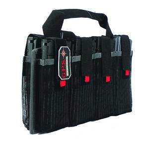 G-Outdoors AR Magazine Tote holds 8 Capacity-Black