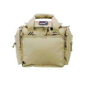 G-Outdoors Medium Range Bag with Lift Ports & 2 Ammo Dump Cups-Tan