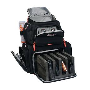 G-Outdoors Handgunner Backpack with 4 Handgun Cradle-Black