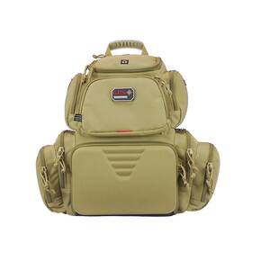 G-Outdoors Handgunner Backpack with 4 Handgun Cradle-Tan