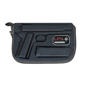 G-Outdoors Compression Molded Pistol Case for 1911 Standard Pistols - Black