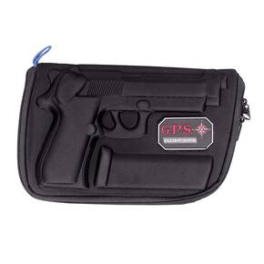 G-Outdoors Compression Molded Pistol Case for Beretta 92/96 Pistols - Black