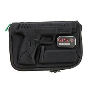 G-Outdoors Compression Molded Pistol Case for S&W M&P Full Size - Black