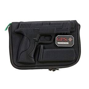 G-Outdoors Compression Molded Pistol Case for S&W M&P Shield - Black