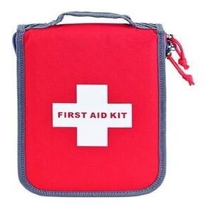G-Outdoors Medium First Aid Kit with Pistol Storage - Red