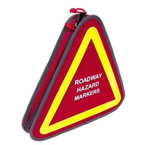 G-Outdoors Roadway Hazard Markers with Pistol Storage-Red