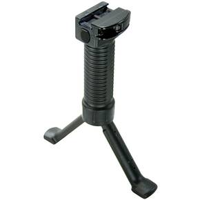 Grip-Pod GPS-CL Military Bipod - Polymer/Stainless Steel Black