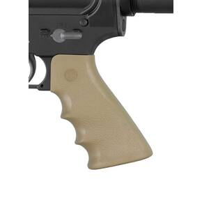 Hogue AR-15/M-16 Rubber Grip with Finger Grooves - Flat Dark Earth