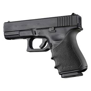 Hogue HandAll Beavertail Grip Sleeve Glock 19, 23, 32, 38 Gen 3-4  Black