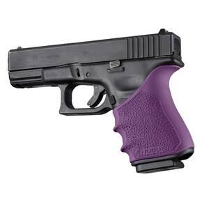 Hogue HandAll Beavertail Grip Sleeve Glock 19, 23, 32, 38 Gen 3-4 Purple